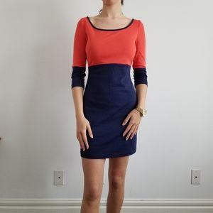 Bodycon Colourblock Dress